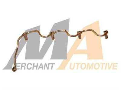 Fuel System - OEM Fuel System - Merchant Automotive - 01-04 LB7 Duramax Fuel Return Line