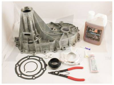 Transfer Case - 263XHD (Push Button) - Merchant Automotive - 01-07 GM Transfer Case 149/246/261HD/263HD Combo Kit- Magnesium Housing