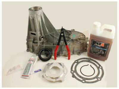Transfer Case - 261XHD (Floor Shift) - Merchant Automotive - Merchant 01-07 GM Transfer Case Pump Combo Kit w/Rear Housing & Fluid