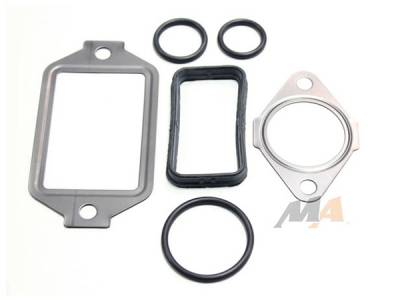 Engine - Engine Gasket Kits - Merchant Automotive - 01+ Duramax Oil Cooler Install Kit