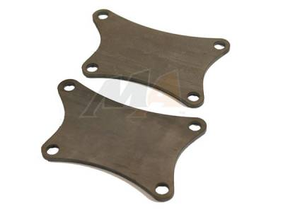 11-16 LML Duramax - DIY Fabrication Parts - Merchant Automotive - Merchant Custom Duramax Motor Mount Plates