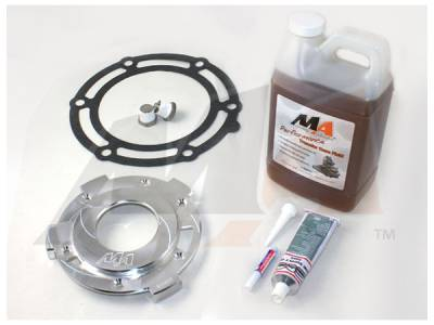Transfer Case - 263XHD (Push Button) - Merchant Automotive - Merchant 01-07 GM Transfer Case Upgrade Kit w/Magnetic Drain Plugs&Fluid