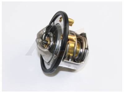 06-07 LBZ Duramax - Cooling System - Merchant Automotive - 01-10 Duramax 180 degree rear thermostat