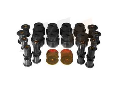 Suspension - Hardware, Bearings, & Seals - Merchant Automotive - Prothane Motion Control Master Bushing Kit Black