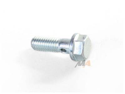 Engine - Bolts, Studs, and Fasteners - Merchant Automotive - 01-04 LB7 Duramax injector return line bolt at the head