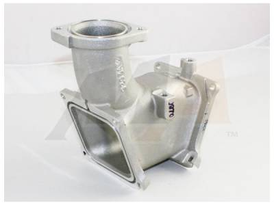 07.5-10 LMM Duramax - Air Intake - Merchant Automotive - 06-10 Duramax Van Intake Y-Bridge
