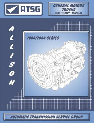 11-16 LML Duramax - Tools - Suncoast - ALLISON 1000 ATSG SERVICE MANUAL