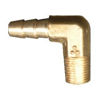 Instrument Gauges/Pods/Hardware - Hardware & Accessories - Edge - Edge Brass Elbow