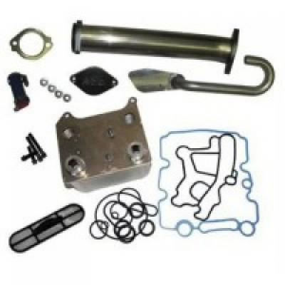 River City Diesel - RCD 03-04 6.0 Powerstroke EGR Delete & Oil Cooler Kit