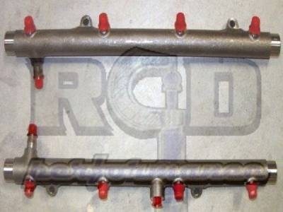 River City Diesel - RCD 08-10 6.4 Powerstroke Modified Fuel Injector Rails (pair)