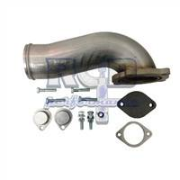 08-10 6.4 Powerstroke - EGR and Piping Kits - River City Diesel - RCD 6.4 Powerstroke T304 Intake Manifold Elbow (Requires EGR Delete)