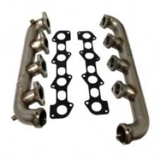 Exhaust - Exhaust Manifolds - River City Diesel - RCD 6.4 Stainless Manifolds
