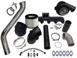 Turbo Kits, Turbos, Wheels, and Misc - Single Turbo Kits - Fleece - Fleece 2nd Gen Swap Kit & Billet S468 Turbocharger for 3rd Gen 5.9L Cummins (2003-2007)