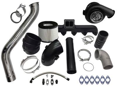 Fleece - Fleece 2nd Gen Swap Kit & Billet S471 Turbocharger for 3rd Gen 5.9L Cummins (2003-2007)