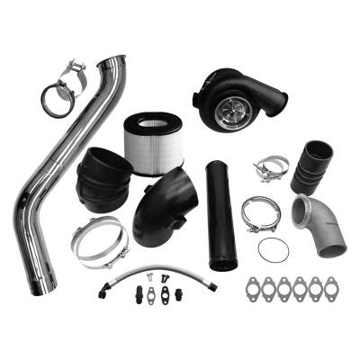 Turbo Kits, Turbos, Wheels, and Misc - Single Turbo Kits - Fleece - Fleece 2nd Gen Swap Kit (No Manifold) & S463 Turbocharger for 3rd Gen 6.7L Cummins (2007.5-2009)