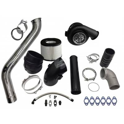Turbo Kits, Turbos, Wheels, and Misc - Single Turbo Kits - Fleece - Fleece 2nd Gen Swap Kit (No Manifold) & Billet S468 Turbocharger for 3rd Gen 6.7L Cummins (2007.5-2009)