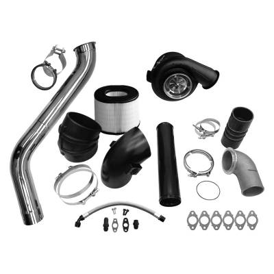 Fleece - Fleece 2nd Gen Swap Kit & Billet S471 Turbocharger for 3rd Gen 6.7L Cummins (2007.5-2009)