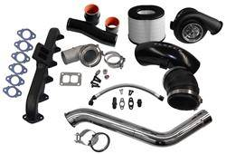 Turbo Kits, Turbos, Wheels, and Misc - Single Turbo Kits - Fleece - Fleece 2nd Gen Swap Kit & S467 Turbocharger for 4th Gen Cummins (2010+)