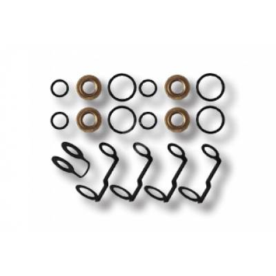 Fuel System - OEM Fuel System - Fleece - Fleece LB7 Duramax Injector Tip Seal, O-ring, and Return Line Gasket Kit