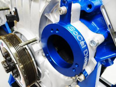 Socal Diesel - Socal Duramax Billet Water Pump to CP3 Adapter