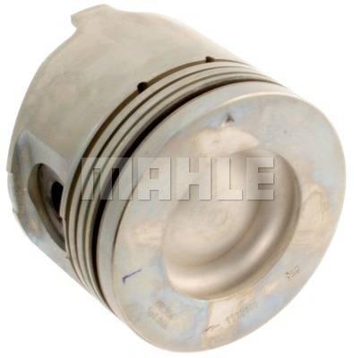 Mahle OEM - Mahle 01-05 LB7/LLY 6.6L Duramax Set of 4 Right Bank Pistons w/o Rings STD