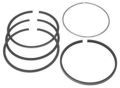 Mahle OEM - Mahle 01-10 LB7/LLY/LBZ/LMM 6.6L Duramax Piston Ring Set .040