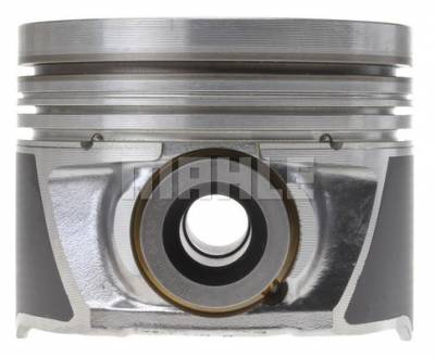 Mahle OEM - Mahle 06-10 LBZ/LMM 6.6L Duramax Set of 4 Right Bank Piston w/ Rings .040 Over