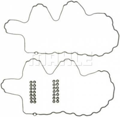 Engine - Engine Gaskets and Seals - Mahle OEM - Mahle 04.5-10 LLY/LBZ/LMM 6.6L Duramax Upper Valve Cover Gasket Set