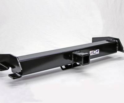 Big Chevy Hitch - 01-10 GM Long Box BEHIND Roll Pan 2 inch Hidden Receiver Hitch