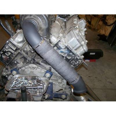 Exhaust - Downpipes - ProFab - ProFab 04.5-10 Duramax Downpipe