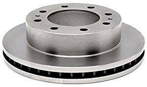 Brake Systems - Pads & Shoes & Rotors  - AC Delco - AC Delco Advantage 01-10 Duramax Front Brake Rotor