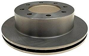 Brake Systems - Pads & Shoes & Rotors  - AC Delco - AC Delco Advantage 01-10 Duramax Rear Brake Rotor (Single Wheel)