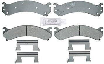 Brake Systems - Pads & Shoes & Rotors  - AC Delco - AC DELCO Advantage 01-10 Duramax Front Ceramic Pad Set