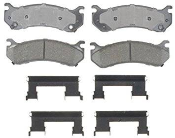Brake Systems - Pads & Shoes & Rotors  - AC Delco - AC DELCO Advantage 01-10 Duramax Rear Ceramic Pad Set (Single Wheel)