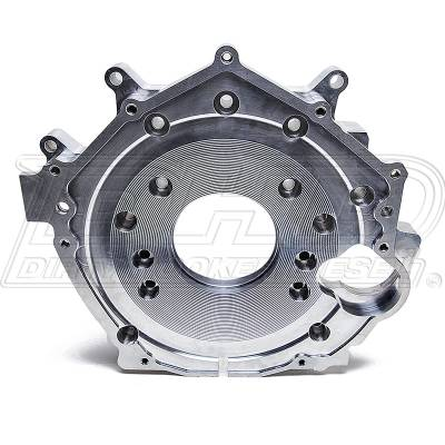 Engine - Components - DHD Diesel - DHD Billet Aluminum Rear Engine Plate 01-10 Duramax