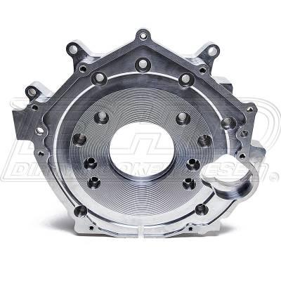 DHD Diesel - DHD Billet Aluminum Rear Engine Plate 01-10 Duramax