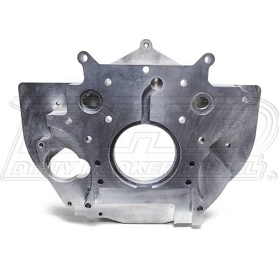 Engine - Components - DHD Diesel - DHD Billet Aluminum Rear Engine Plate With Tabs 01-10 Duramax Diesel