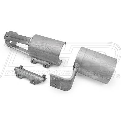 04.5-05 LLY Duramax - Sled Pulling Parts - DHD Diesel - DHD Front Drive Shaft Blow Shields Aluminum 2001-2010
