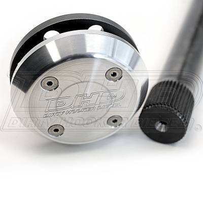 DHD Diesel - DHD 4340 38 Spline Axle & End Cap (Single Axle Only) Dodge DRW