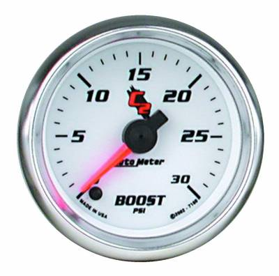 "Instrument Clusters/Gauges - Gauges - Auto Meter - AutoMeter C2 Digital 2-1/16"" 0-30 PSI Boost"