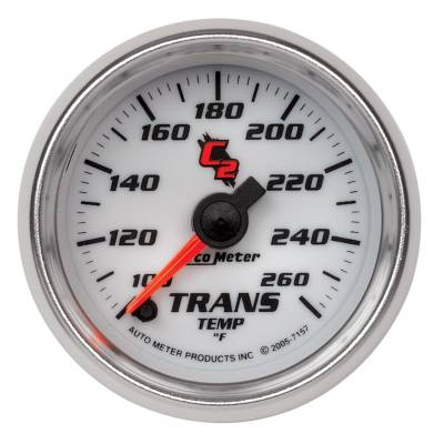 "Instrument Clusters/Gauges - Gauges - Auto Meter - AutoMeter C2 Digital 2-1/16"" 100-260°F Transmission Temperature"