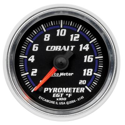 "Instrument Clusters/Gauges - Gauges - Auto Meter - AutoMeter Cobalt Digital 2-1/16"" 0-2000°F Pyrometer"