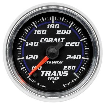 "Instrument Clusters/Gauges - Gauges - Auto Meter - AutoMeter Cobalt Digital 2-1/16"" 100-260°F Transmission Temperature"