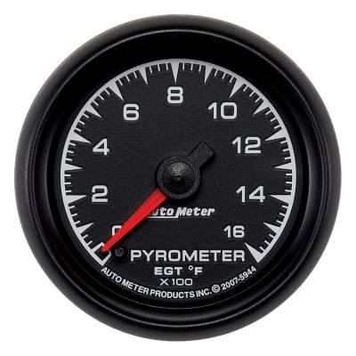 "Instrument Clusters/Gauges - Gauges - Auto Meter - AutoMeter ES Digital 2-1/16"" 0-1600°F Pyrometer"