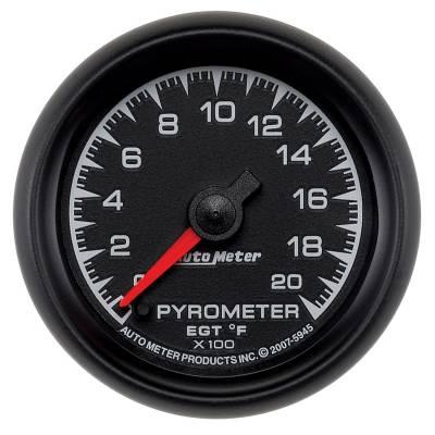 "Instrument Clusters/Gauges - Gauges - Auto Meter - AutoMeter ES Digital 2-1/16"" 0-2000°F Pyrometer"