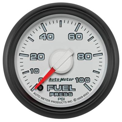 "Auto Meter - AutoMeter Dodge 3rd Gen Factory Match Digital 2-1/16"" 0-100 PSI Fuel Pressure"