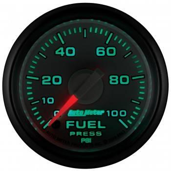 "Auto Meter - AutoMeter Dodge 3rd Gen Factory Match Digital 2-1/16"" 0-100 PSI Fuel Pressure - Image 2"