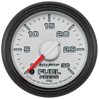 "Auto Meter - AutoMeter Dodge 3rd Gen Factory Match Digital 2-1/16"" 0-30 PSI Fuel Pressure"