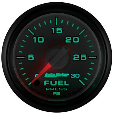 "Auto Meter - AutoMeter Dodge 3rd Gen Factory Match Digital 2-1/16"" 0-30 PSI Fuel Pressure - Image 2"
