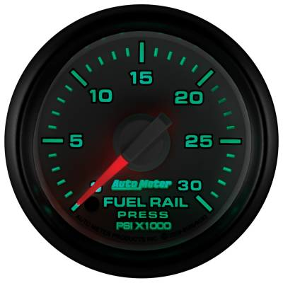 "Auto Meter - AutoMeter Dodge 3rd Gen Factory Match Digital 2-1/16"" 0-30K PSI Fuel Rail Pressure  - Image 2"